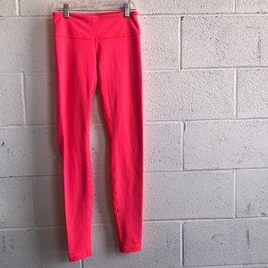 Lululemon hot pink legging sz4 60696